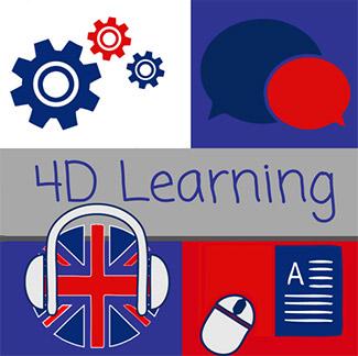 4d Learning en anglais - Selon votre style d'apprentissage